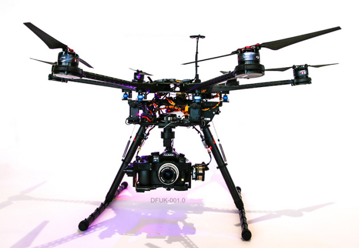 Dragonfly's latest UAV and camera